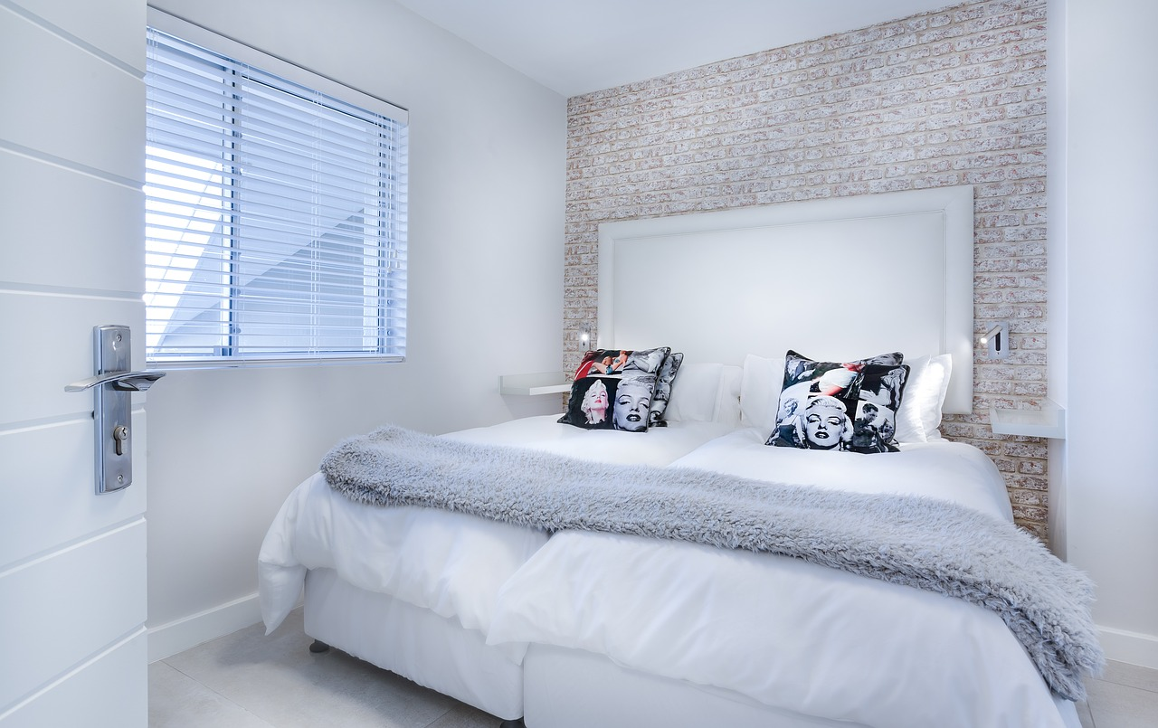 Bettwäsche bringt einen Hauch Farbe ins Schlafzimmer